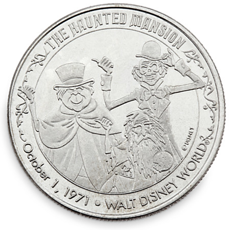 Haunted Mansion- Park Pack Coin