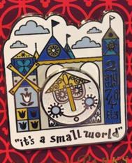 It's a Small World Pin