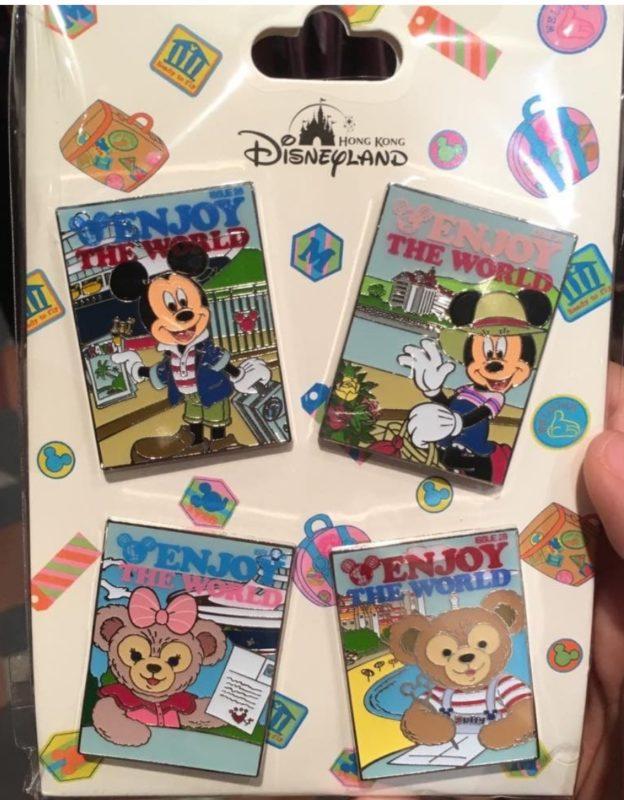 Hong Kong Disneyland Postcard Booster Pack