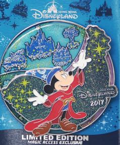 Hong Kong Disneyland Sorcerer Mickey Pin