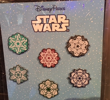 Star Wars Snowflake Pin Set