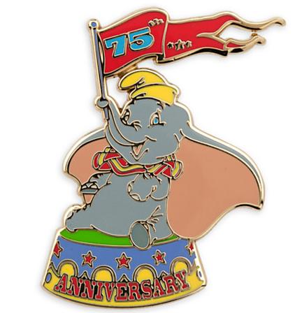 Dumbo 75th Anniversary Pin