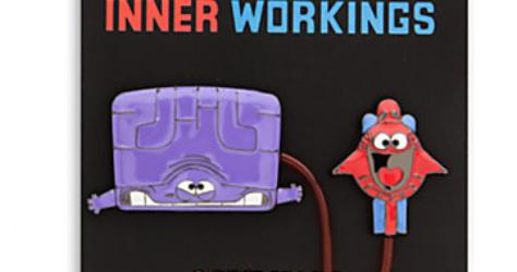 Inner Workings Disney Pin- On Card