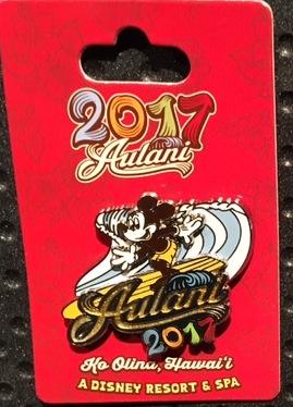 Aulani 2017 Mickey Pin
