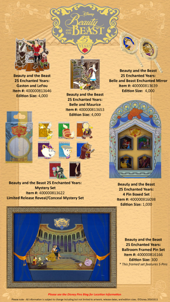 beauty-and-the-beast-25th-anniversary-pins