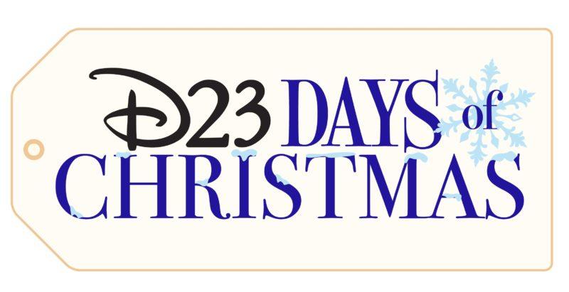 D23 Days of Christmas Logo