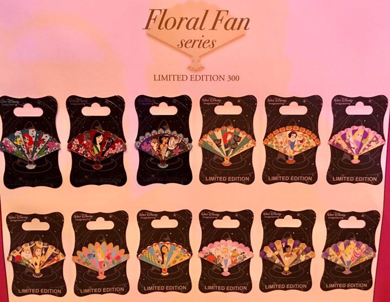 floral-fan-disney-pin-series