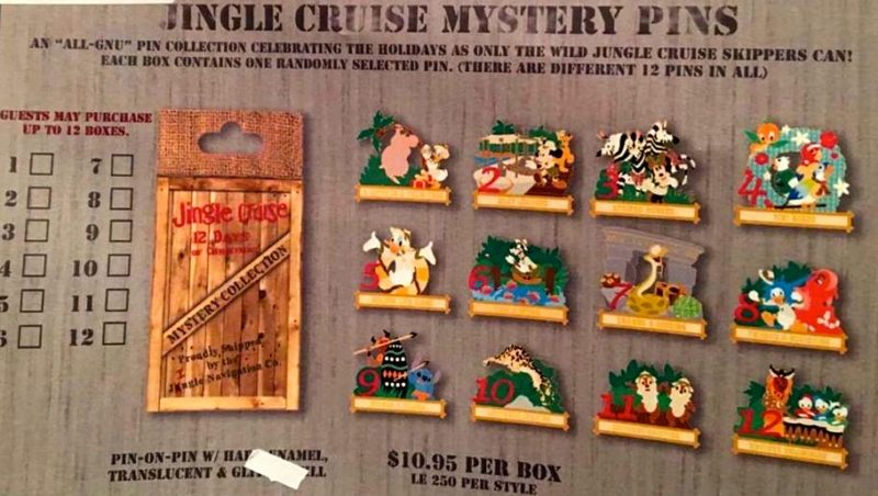 jingle-cruise-mystery-pin-collection-2016