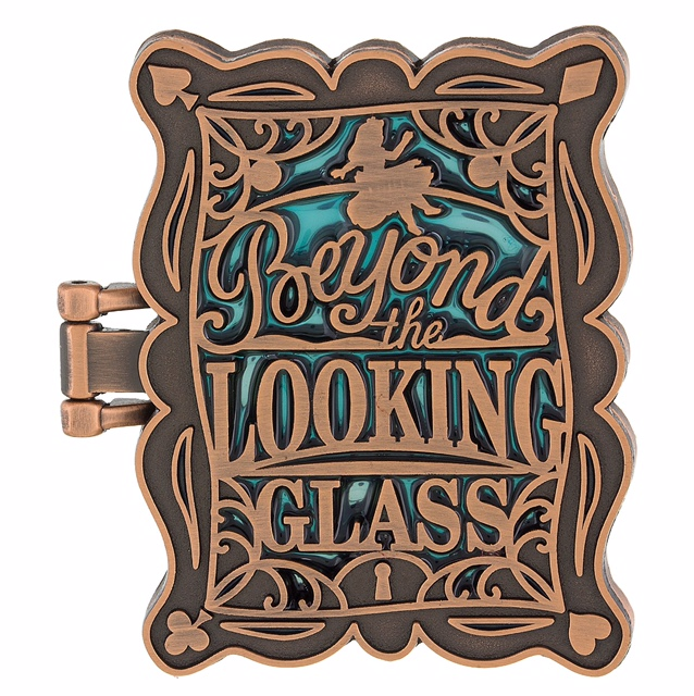 Beyond the Looking Glass Disney Mirror Pin