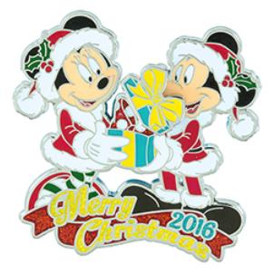 Christmas Day 2016 Disney Pin