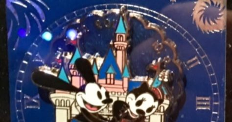 Disneyland New Year 2017 Pin