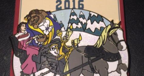 Holiday Sleigh Ride 2016 Disney Pin