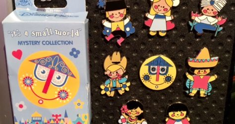 It's a Small World Mystery Pin Collection