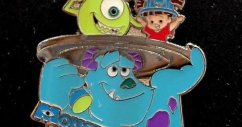 Monsters Inc Ride & Go Seek - Tokyo Pin