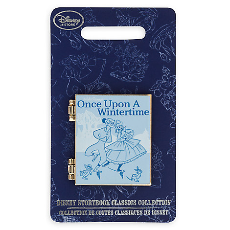 Once Upon a Wintertime Storybook Classics Pin
