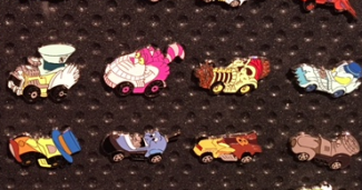 Disney Racer Mystery Pin Collection 2016