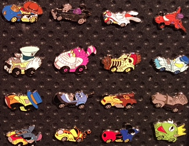 Disney Racer Mystery Pin Collection 2016 - Disney Pins Blog