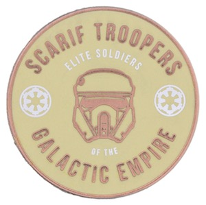 Scarif Troopers Elite Soldiers Pin