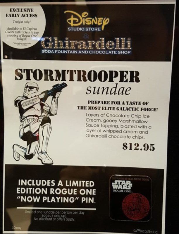 Storm Trooper Sundae - Flyer
