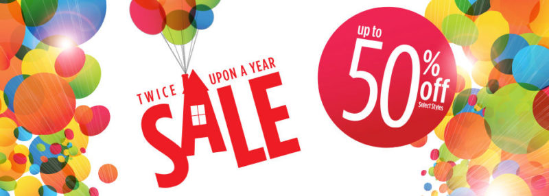Twice Upon a Year Sale