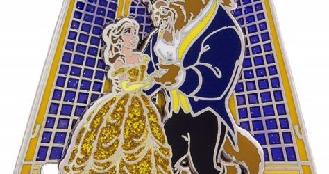 2017 Disney Visa Beauty & the Beast Pin