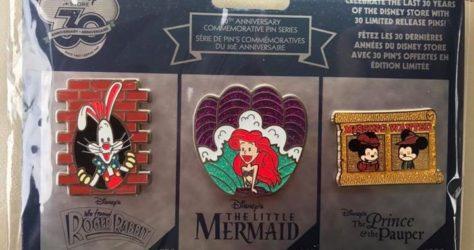30th Anniversary Disney Store Pins - Week 1