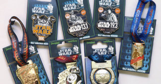 Disneyland Star Wars Marathon 2017 Pins