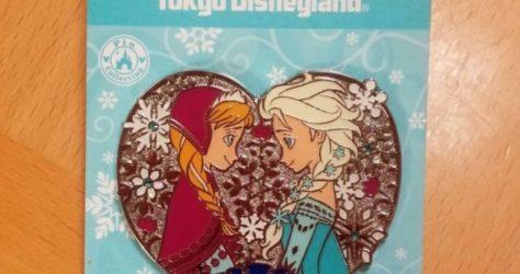 Frozen Fantasy 2017 Anna Elsa Pin