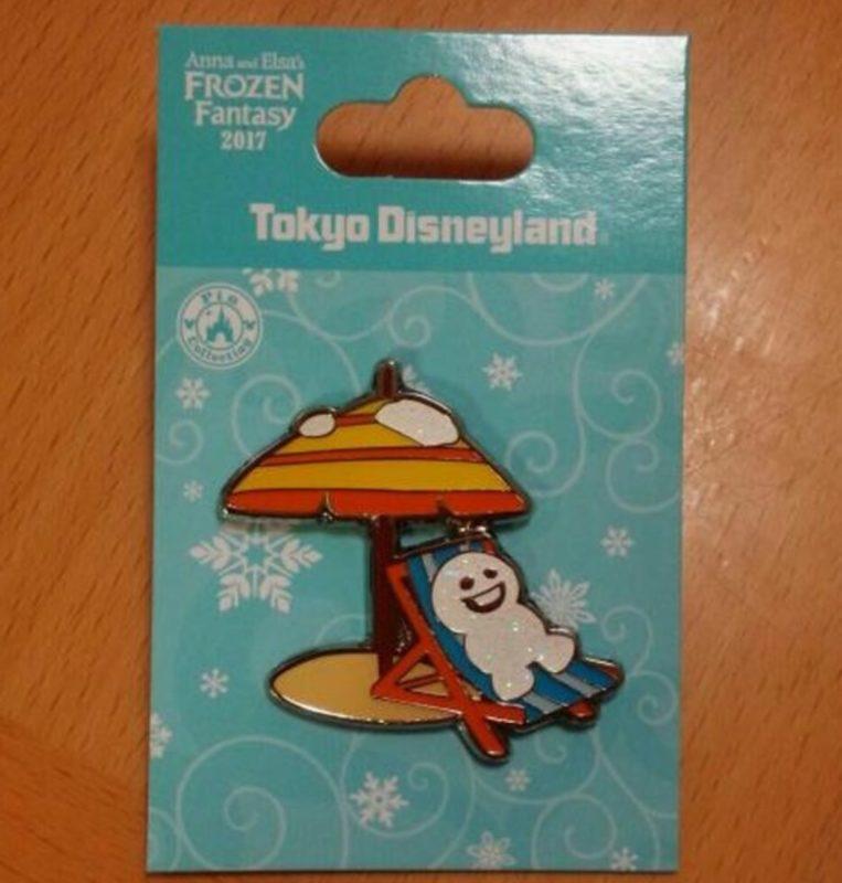 Frozen Fantasy 2017 Snowgies Pin 1