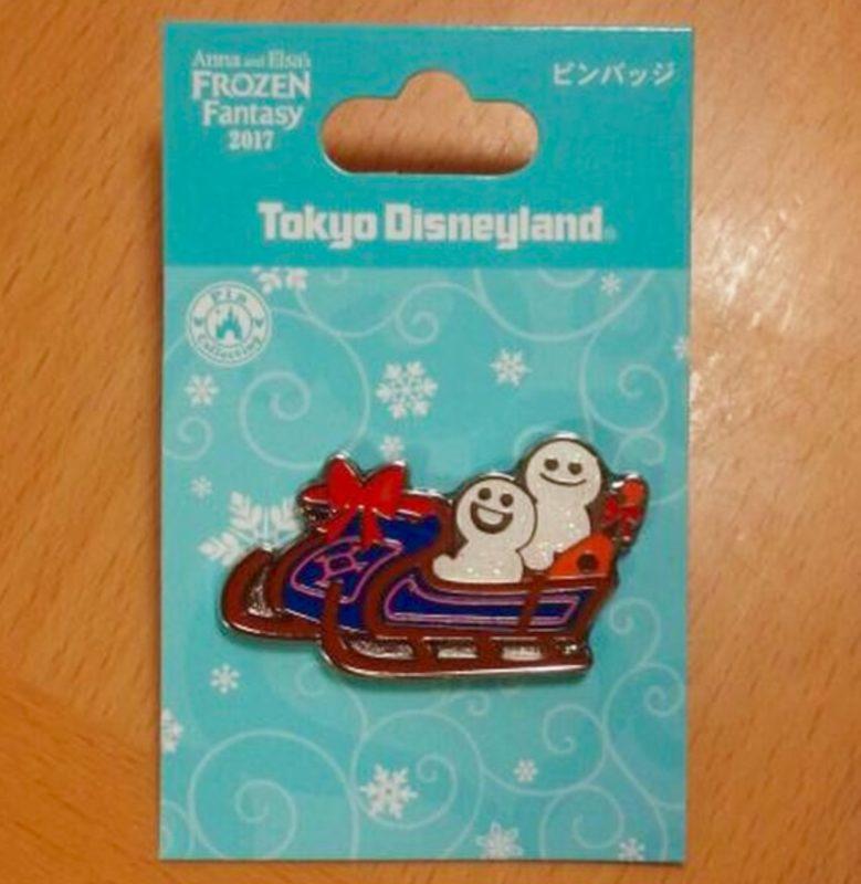 Frozen Fantasy 2017 Snowgies Pin 2