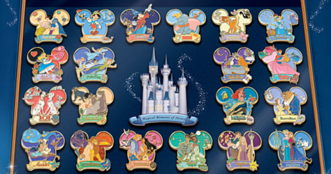 Full Set- Bradford Exchange Disney Pin Collection