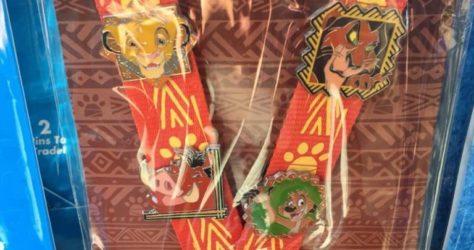 Lion King Disney Pin Trading Starter Set