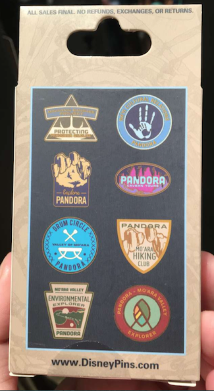 Pandora - The World of Avatar Mystery Pin Collection