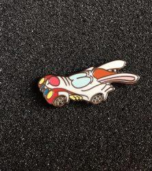Roger Rabbit Racer Pin