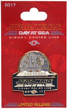 Star Wars Day at Sea 2017 Logo Pin