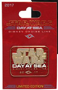 Star Wars Day at Sea 2017 Red Pin