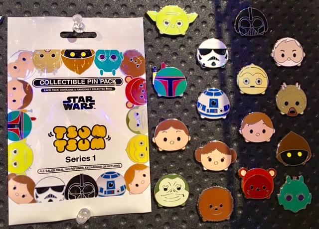 Star Wars Tsum Tsum Series 1 Pins