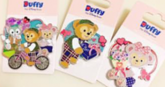 Valentine's Day Duffy and Friends Pins - 2017