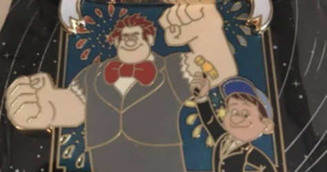 WDI New Year 2017 Pin = Wreck it Ralph