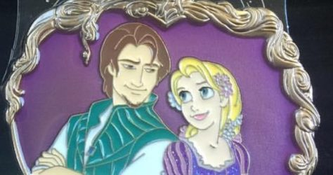 WDI Surprise Release - Flynn Rider and Rapunzel