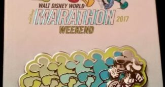 Walt Disney World Marathon 2017 Pin