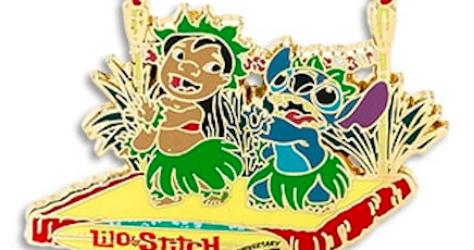 Lilo & Stitch 15th Anniversary Pin
