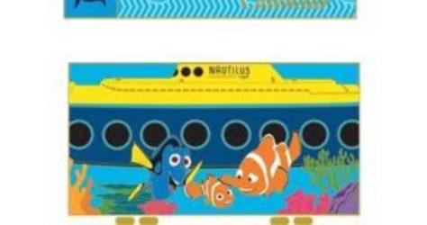 WDI 2017 Calendar Pin – Finding Nemo Submarine Voyage