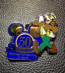 Disneyland 50th Anniversary Goofy Pin