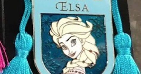 Elsa Tassel Pin
