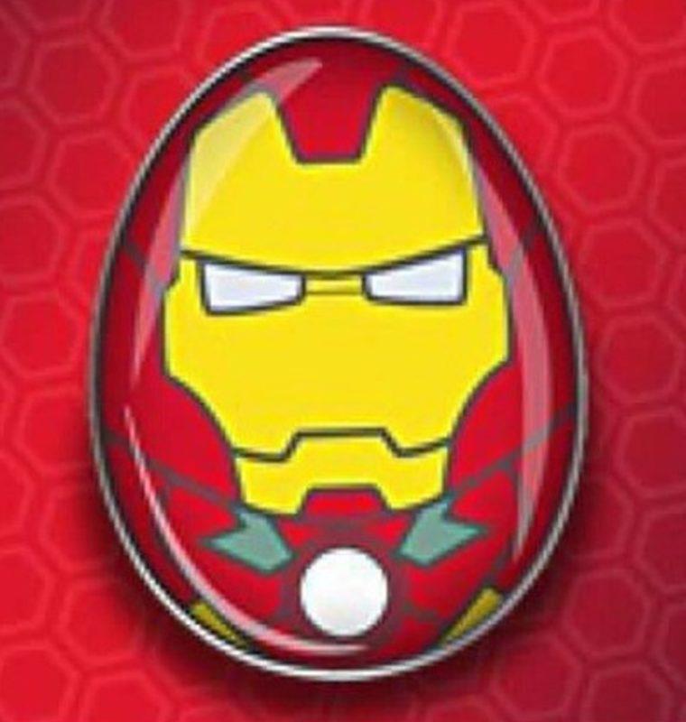 Iron Man Egg Disney Pin