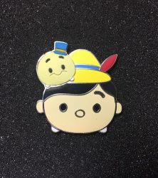 Pinocchio & Jiminy Cricket Tsum Tsum Pin