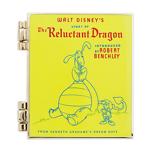 The Reluctant Dragon Pin