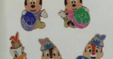 Tokyo DisneySea Easter Game Pins 2017