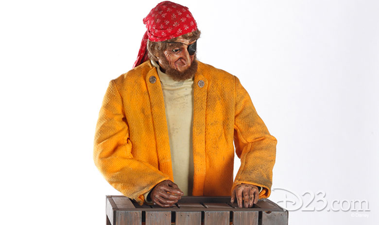 Pirate Animatronic